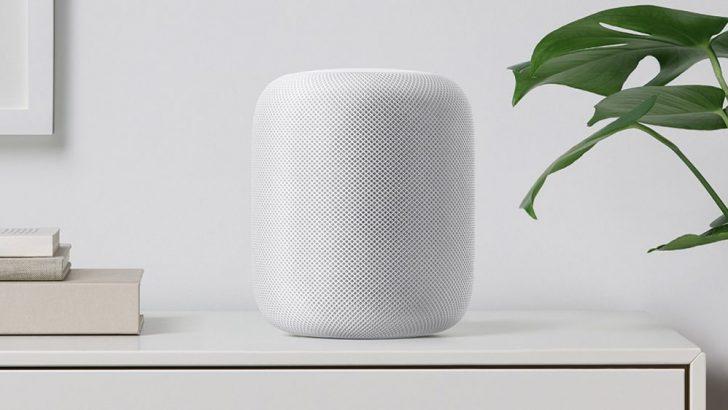 Apple akıllı ev hoparlörü HomePod'u duyurdu