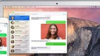 Mac üzerinden SMS alıp gönderme işlemi nasıl yapılır?