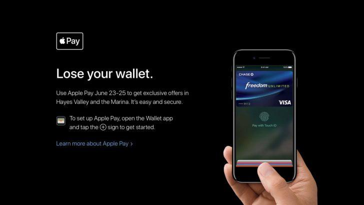 Apple Pay uygulaması 'Lose Your Wallet' etkinliğiyle destekleniyor