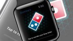Apple Watch üzerinden Domino's Pizza siparişleri başladı
