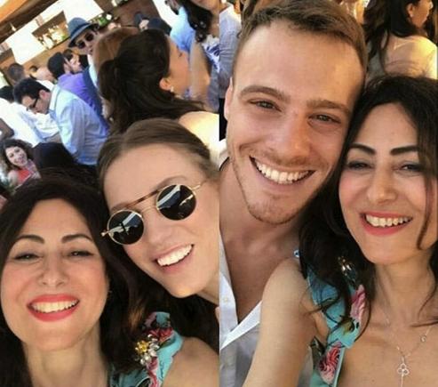 Kerem Bürsin'in ablası Melis Bürsin evlendi