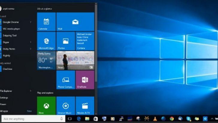 Windows 10 klavye tüm kısayolları ve özellikleri