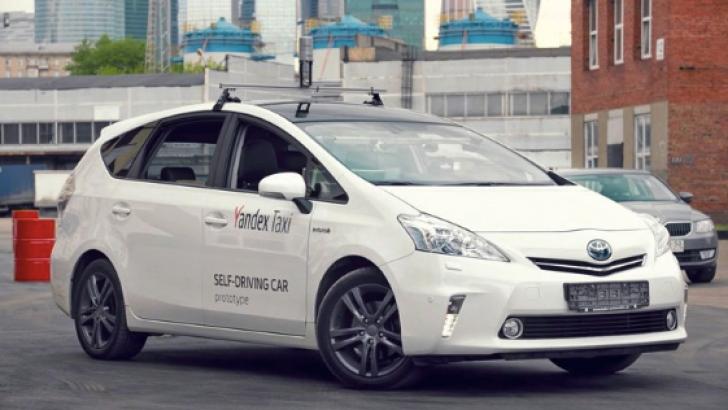 Yandex sürücüsüz otomobilini görücüye çıkardı