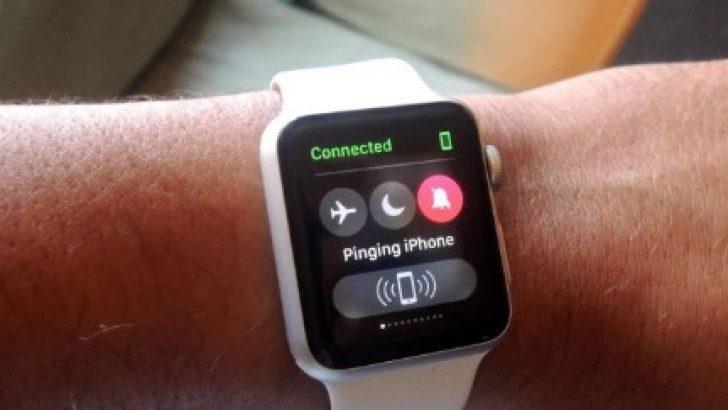 Apple Watch ile kayıp iPhone nasıl bulunur
