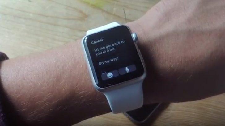 Apple Watch için hazır cevap mesajları nasıl hazırlanır