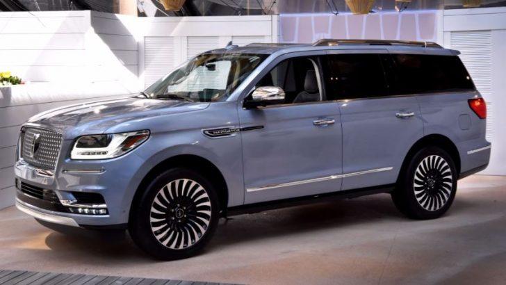 2018 Lincoln Navigator tasarımıyla büyülüyor
