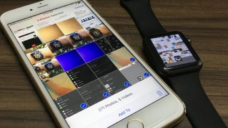 """Apple Watch'la iPhone""""dan fotoğraf nasıl çekilir"""