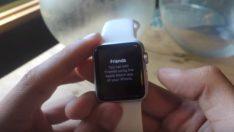 Apple Watch'ta arkadaşlarınızı ekle ve sil nasıl yaparsınız