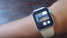 Apple Watch ile iPhone'u gizli kameraya çevirebilirsiniz