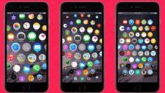 Apple Watch arayüzü iPhone'da nasıl görüntülenir