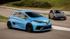 Renault Zoe e-spor (2017) konsept aracı ortaya çıktı