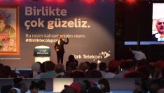 Türk Telekom binasında 15 Temmuz şehitleri anıldı