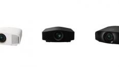 Sony'den 4K HDR özellikli üç yeni Ev Sineması projektörü