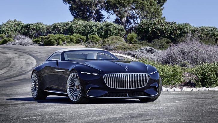 Vision Mercedes-Maybach 6 Cabriolet tasarımıyla geleceğe götürüyor
