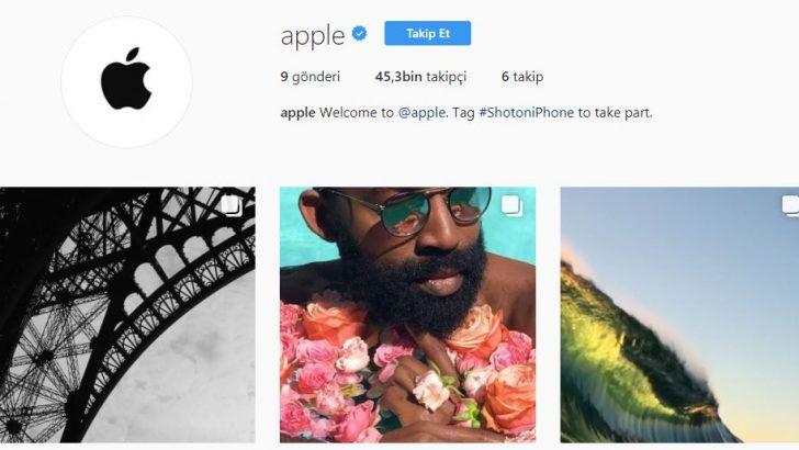 Apple Instagram'a katıldı