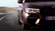 2018 BMW M5'in tanıtım videosu paylaşıldı