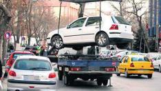 Aracını çeken çekiciye önce haciz koydurdu sonra trafikten men ettirdi