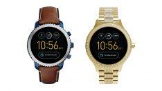 Fossil'in 3. nesil Android Wear saatleri ön siparişe hazır