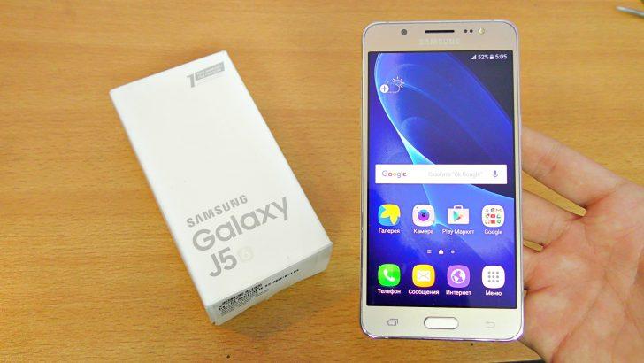 Galaxy J5 2016'ya Android 7.0 Nougat güncellemesi gelebilir