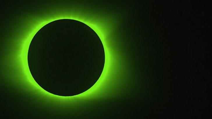 NASA Güneş tutulmasının kızılötesi fotoğraflarını paylaştı
