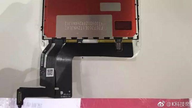 iPhone 7s ekran bileşenleri ve boyutları sızdırıldı
