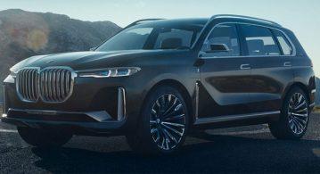 işte BMW X7 iPerformance Concept