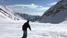 Çukurova Bölgesi'ne 100 milyon Euro'luk kayak merkezi kurulacak