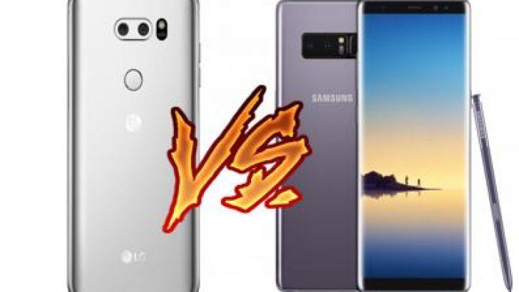 LG V30 vs Galaxy Note 8: hangisi daha iyi?