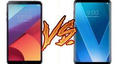LG V30 vs LG G6 karşılaştırması, farklar neler?