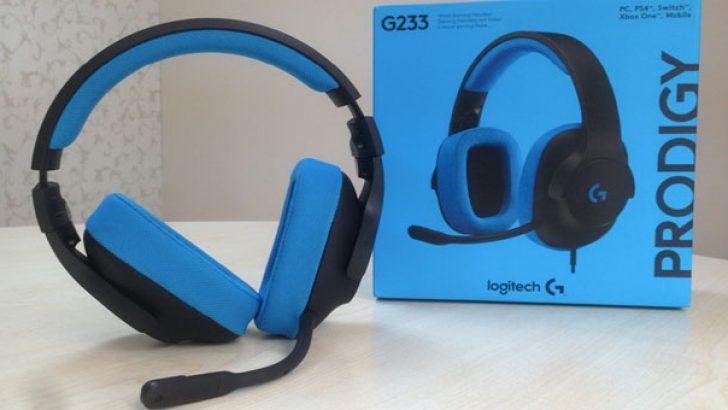 Logitech G233 Prodigy kulaklık inceleme ve değerlendirme