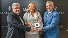 Maserati'nin üçüncü showroom'u Bursa'da açıldı