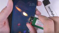 Galaxy Note 8 çizilmeye, bükülmeye ve yanmaya dayanıklı mı