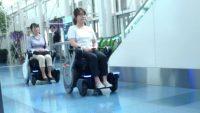 Panasonic'ten robotik tekerlekli sandelye