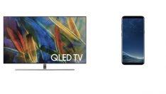Samsung QLED TV alana Galaxy S8 hediye edilecek