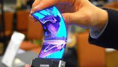 Samsung katlanabilir akıllı telefon 2018'de geliyor