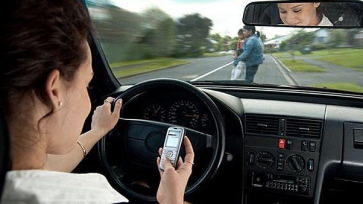 Akıllı telefon kullanımı hem sürücüleri hem yayaları tehdit ediyor
