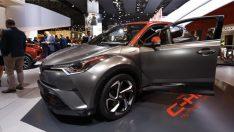 Sakarya'da üretilen Toyota C-HR Frankfurt'ta boy gösterdi