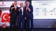 Türkiye Vodafone Vakfı ve Türk Kızılayı'ndan şehit ailelerine 1 milyonluk destek