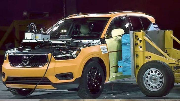 Yeni Volvo XC40 çarpışma testinde