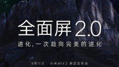 Xiaomi, amiral gemisi Mi MIX 2 ile birlikte Mi Note 3'ü de tanıtacak