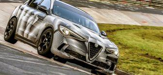 Alfa Romeo Stelvio Quadrifoglio dünyanın en hızlı SUV'si oldu
