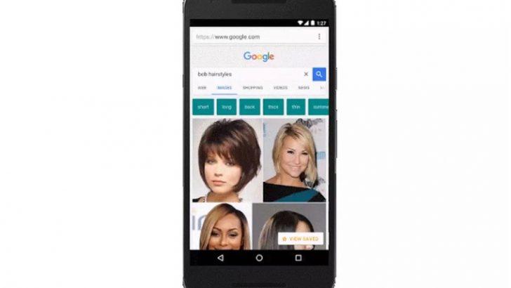 Google'dan mobil aramalar için yer imi: Collections