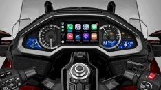 İşte Apple CarPlay destekli 2018 Honda Gold Wing