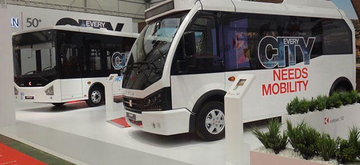 Karsan elektrikli minibüs Jest'i Avrupa'da görücüye çıkardı