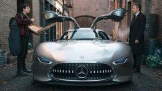 Mercedes'ten Batman'e süper otomobil AMG Vision GT