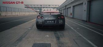 Nissan GT-R'ı uzaktan kumanda ile kullandılar (Video)