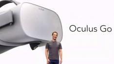 Facebook VR başlığı Oculus Go'yu tanıttı