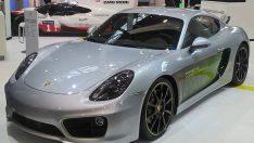 Porsche'nin elektrikli Cayman Concept'i ile tanışın