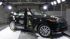 Range Rover Velar, Euroncap testlerinden 5 yıldızla geçti