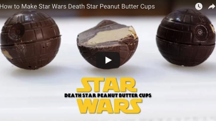 Star Wars Death Star fıstık ezmesiyle açlığınızı yatıştırın